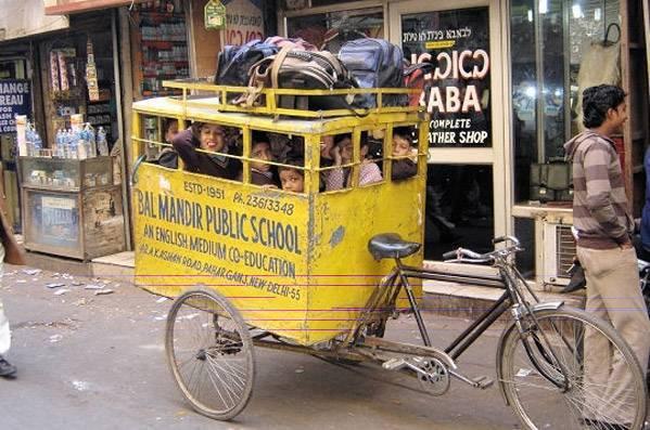 India school bus