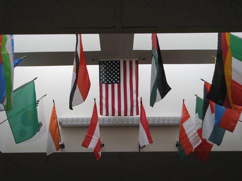 Bauder Flag Display 2